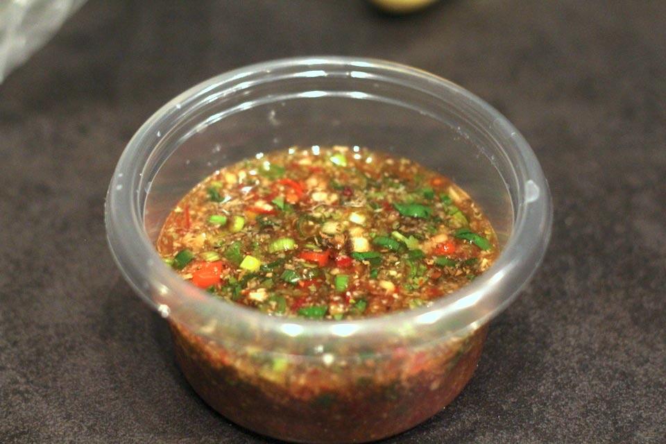 Thai Chili Lime Dipping Sauce