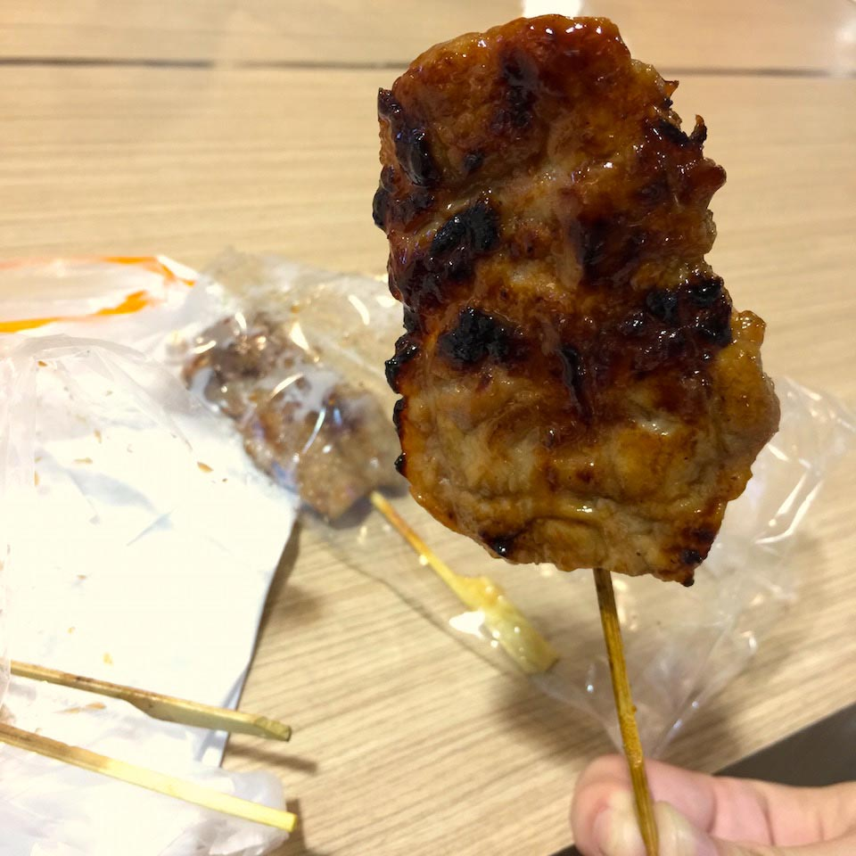 Grilled Pork Skewer - Terminal 21 Basement Food Court