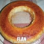 almond-flan