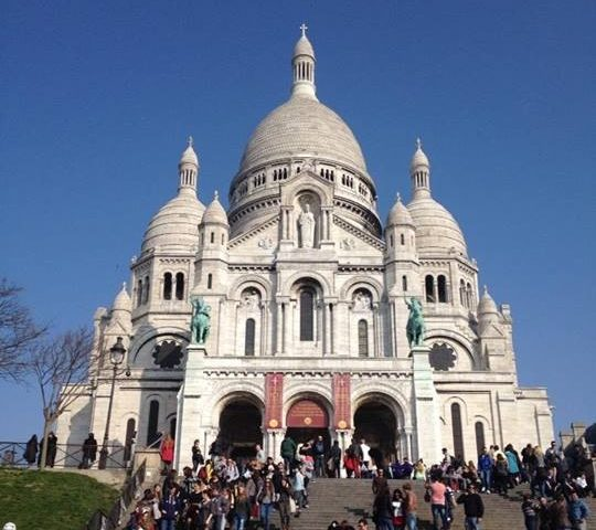 Sacre Coeur- things to do in Paris