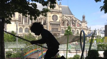 Playgrounds in Paris