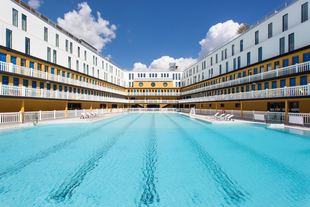 The best outdoor pools in Paris