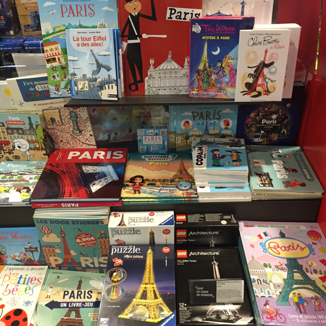 Books about Paris for kids