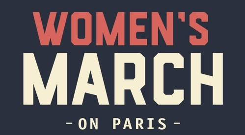 The Women's March - Paris