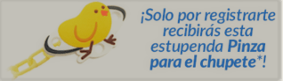 Pinza de chupete gratis Club Ordesa