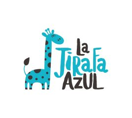 La jirafa azul
