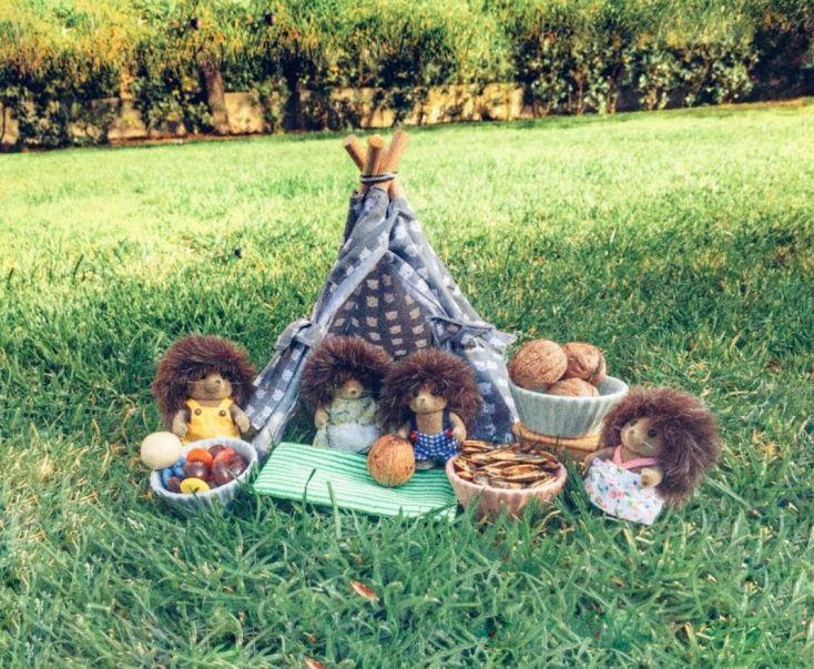 Be My guest - mini tipi para muñecos