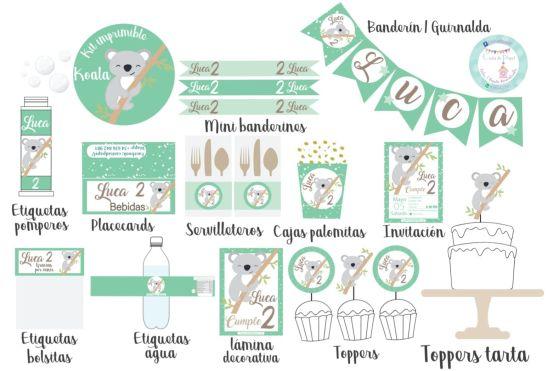 Kit fiesta digital - Casita de papel