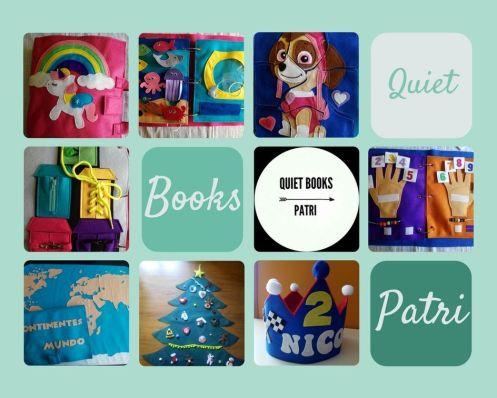 Trabajos de Quiet book Patri