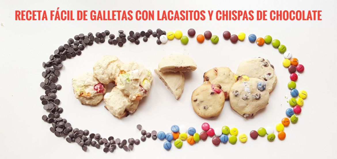 Galletas con Lacasitos.
