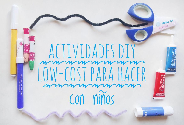 Actividades DIY low-cost