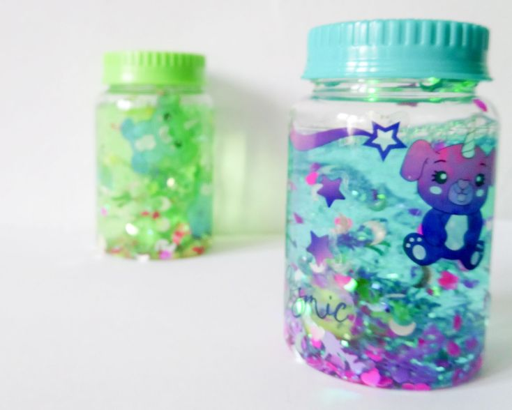 Jar so glow.