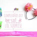 Título. Cumpleaños diy low-cost