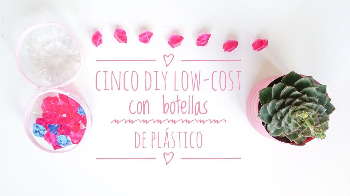 Título. DIY low-cost con botellas de plástico.