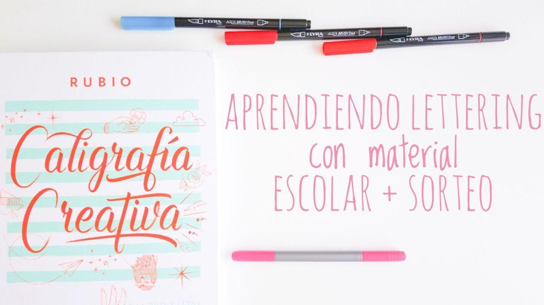 lettering. tñitulo.