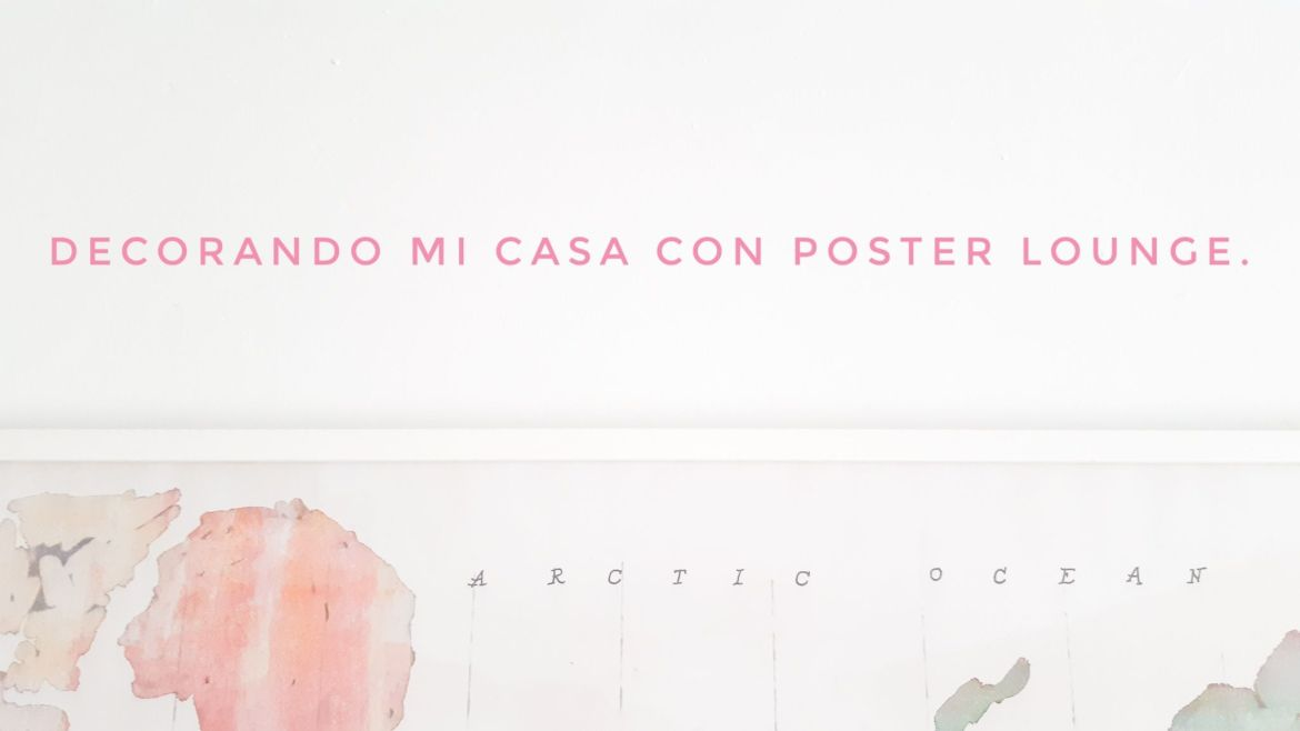 poster lounge. titulo