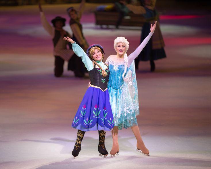 Elsa y Anna.