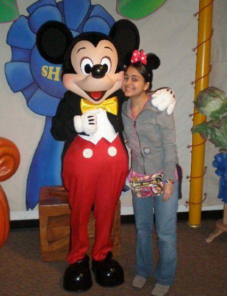 Mickey & yo.