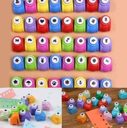 Para hacer formas divertidas y confetti de papel. Imagen de Aliexpress.
