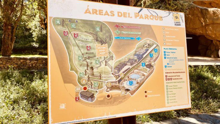 Mapa del parque