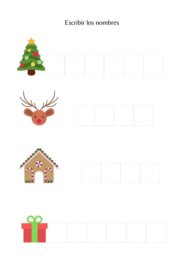 Nombres navideños