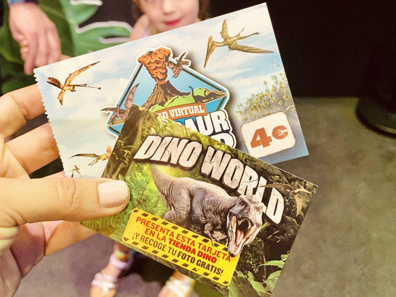 Tickets para dino world