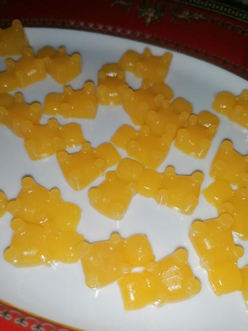 Jeleuri cu portocale fara zahar
