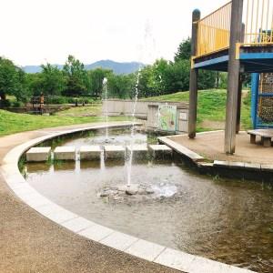 南長野運動公園噴水