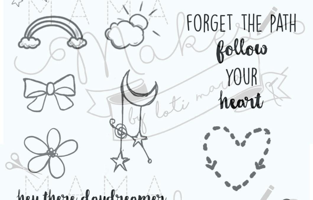 Doodle Dreams – 19 Stamps