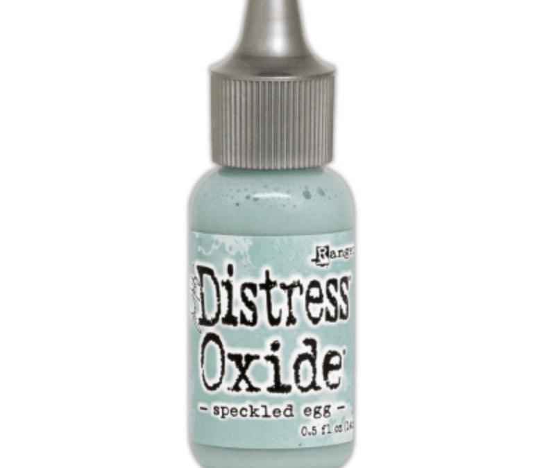 Ranger – Distress Oxide Reinker – Speckled Egg