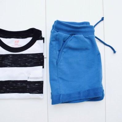 Shirtje: H&M | Broekje: Mingo @ Kidsandso