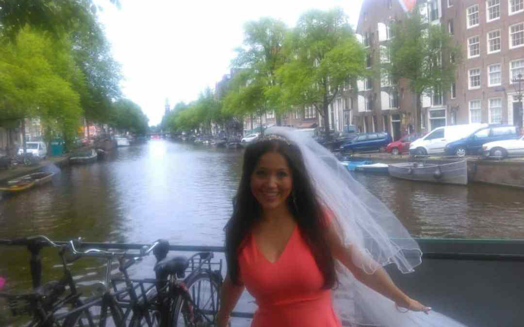 Mini Moon: Getting married with kids Mini Mooning in Amsterdam