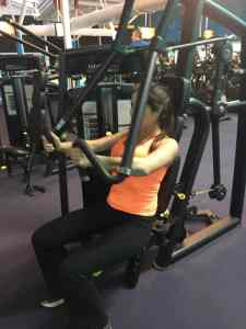 total fitness gym gymnasium workout girl