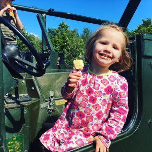 arianna at diggerland yorkshire castleford