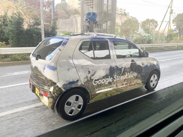 グーグルストリートビューの車に遭遇!グーグルアースの車を発見してちょっとびっくりした話
