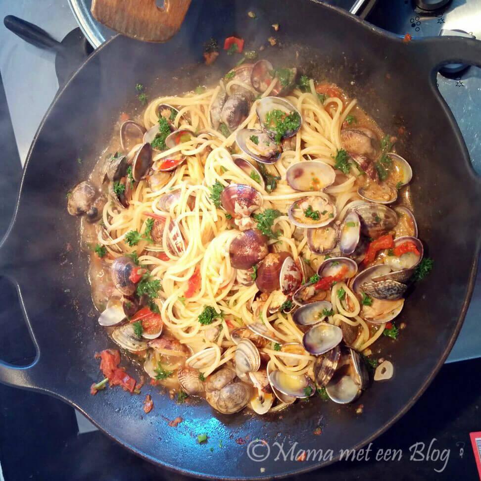 pasta Vongole al la Jamie mamameteenblog.nl