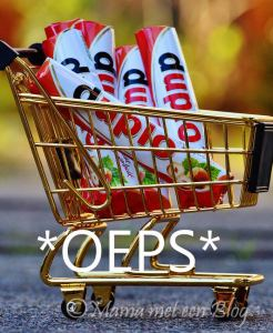 winkelwagentje met chocolaatjes mamameteenblog.nl