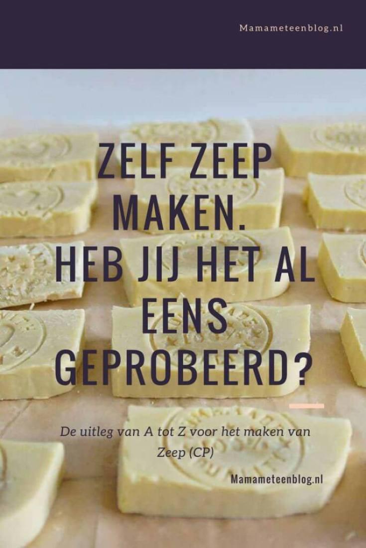 Zelf zeep maken mamameteenblog.nl