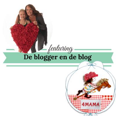 de blogger en de blog website4mama mamameteenblog.nl