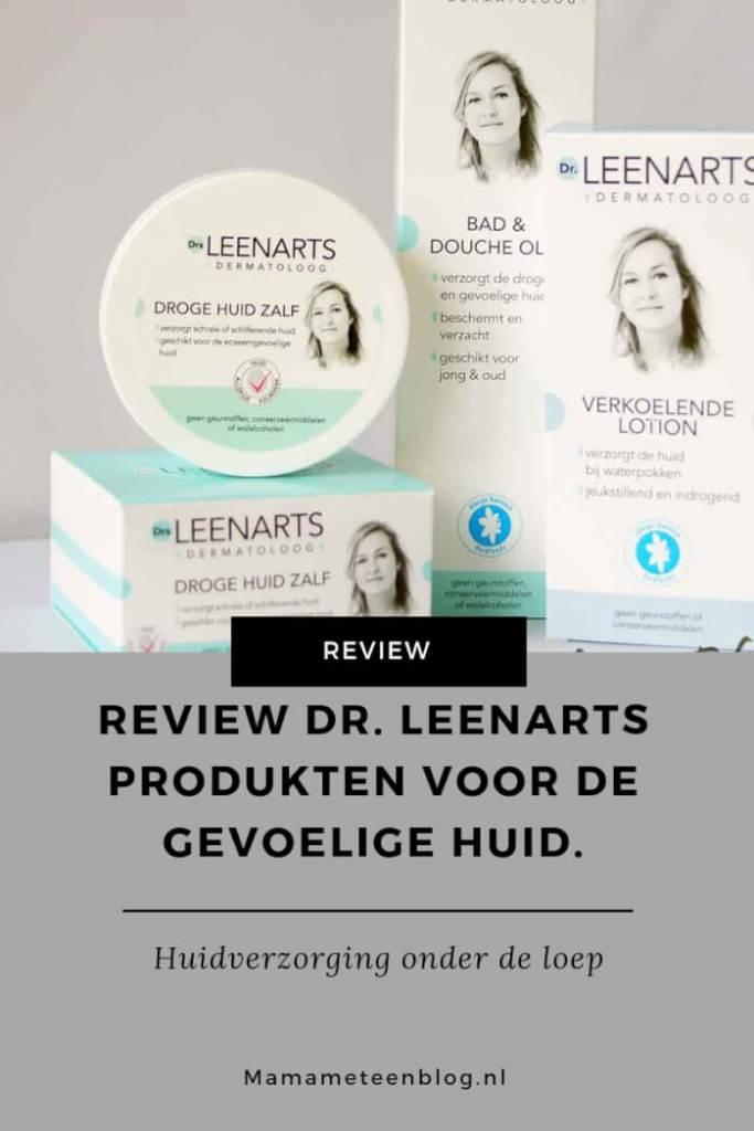 Review Dr. Leenarts produkten voor de gevoelige huid mamameteenblog.nl