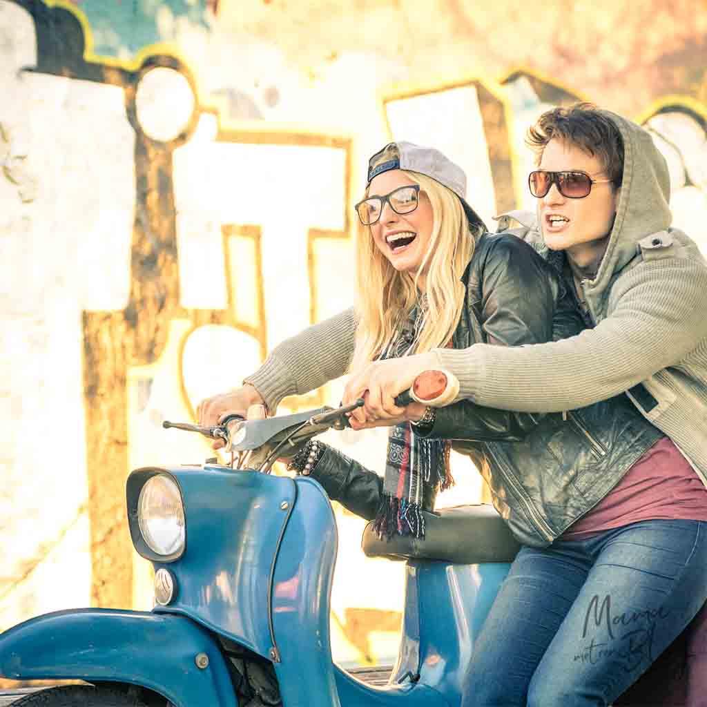 Jouw scooter delen met je broer of zus – Opgeven bij de verzekeraar mamameteenblog