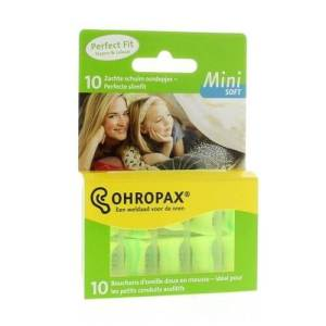 Ohropax Mini Soft mamameteenblog.nl