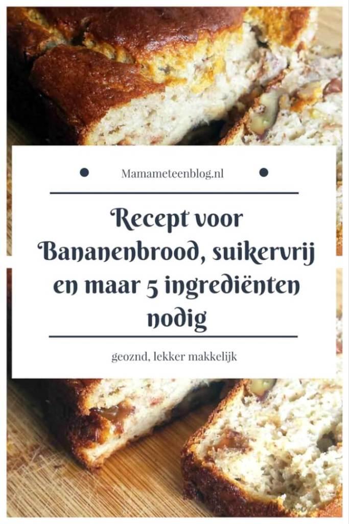 recept bananenbrood mamameteenblog.nl