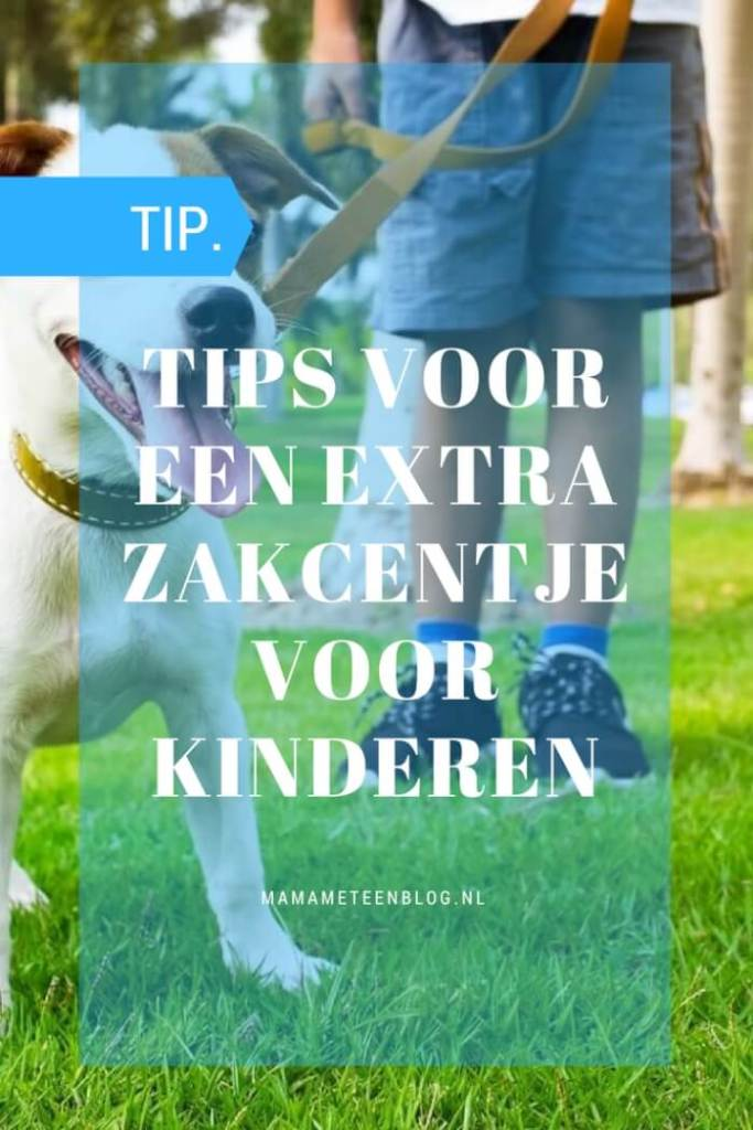 Tips extra zakcentje kinderen mamameteenblog.nl