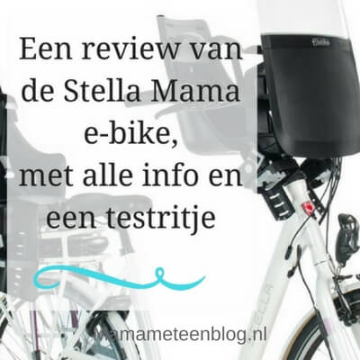 stella mama e-bike review mamameteenblog.nl (1)