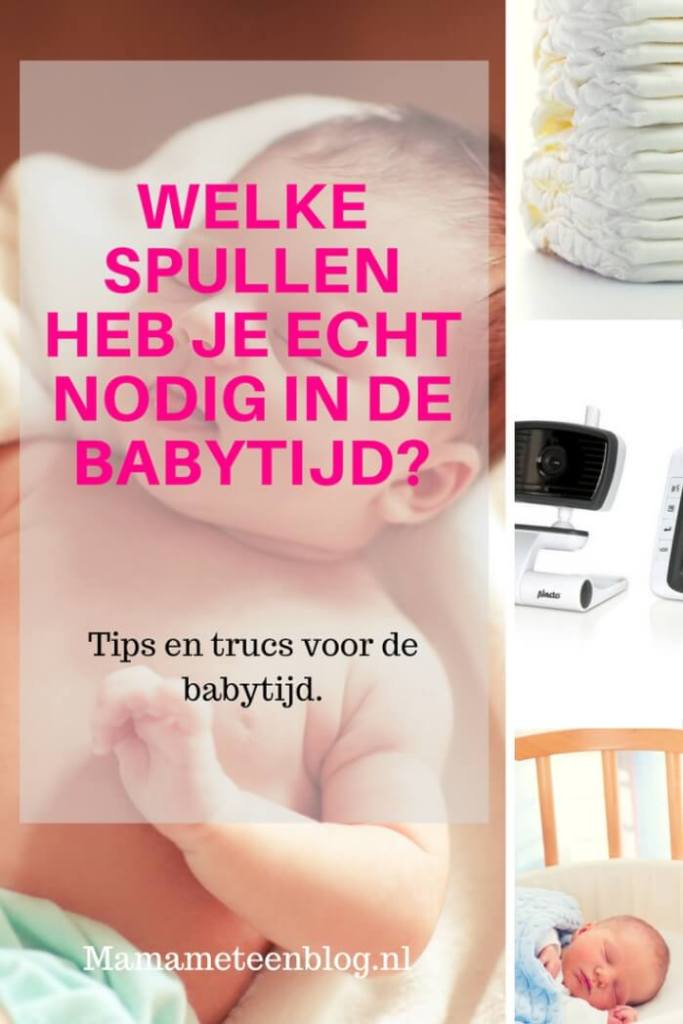 Spullen Voor Baby.Welke Spullen Heb Je Nodig In De Babytijd Mamameteenblog Nl