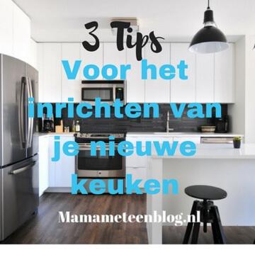 3 tips nieuwe keuken inrichten