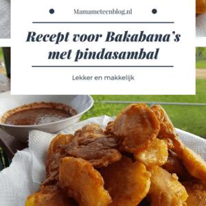 Recept bakabana's mamameteenblog.nl