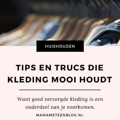 Tips en trucs die kleding mooi houdt