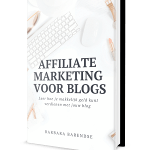 Affiliate marketing voor blogs